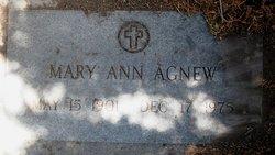 Mary Ann <i>Bonner</i> Agnew
