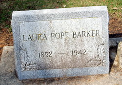 Laura <i>Pope</i> Barker