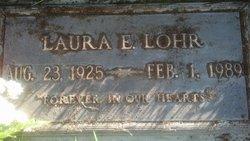 Laura Ellen Snookie <i>Burrington</i> Lohr