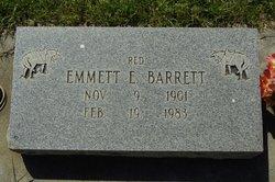Emmett E Red Barrett