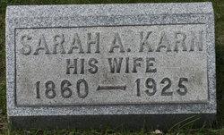 Sarah A. <i>Karn</i> Bird
