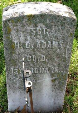 Sgt Henry C Adams