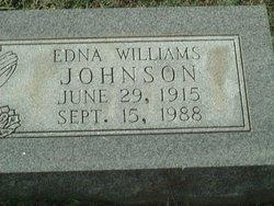 Edna <i>Williams</i> Johnson