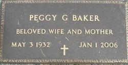 Peggy <i>Gunter</i> Baker