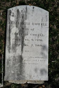 Elizabeth <i>Howell</i> Cowell
