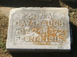 Arizona B Zona <i>Hadlock</i> Cavanaugh