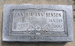 Cynthia Ann Benson