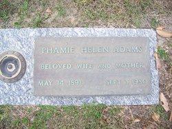 Phamie Helen Adams