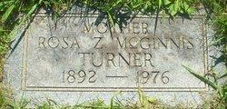 Rosa Z <i>McGinnis</i> Turner