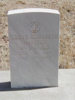 Eddye Elizabeth <i>Hairston</i> McDonald