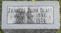 Frances <i>Blom</i> Blatt