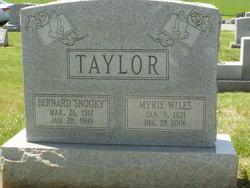Bernard Franklin Taylor