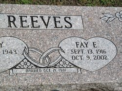 Fay Eugene Reeves