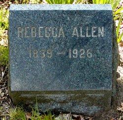 Rebecca <i>Maguire</i> Allen