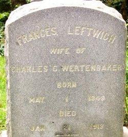 Frances <i>Leftwich</i> Wertenbaker