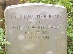 Louianna <i>Timberlake</i> Wertenbaker