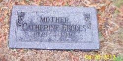 Catherine Kate <i>Bethune</i> Rhodes