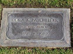 Cora Katherine <i>Keefer</i> Batchelder