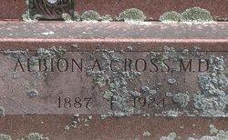 Albion Arthur Cross, MD
