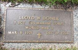 Lloyd W Doner