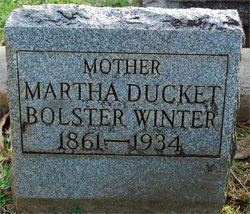 Martha <i>Duckett</i> Bolster