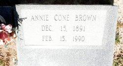 Annie <i>Cone</i> Brown