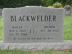Wanda Blackwelder