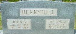 Maude M Berryhill