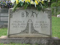Virginia Bell Jennie <i>Mills</i> Bray