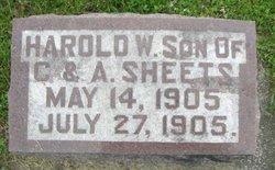 Harold W. Sheets