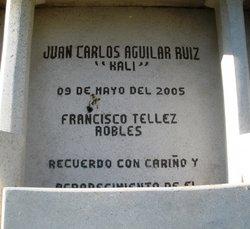 Juan Carlos Kali Aguilar Ruiz