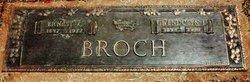 Ernest Carroll Broch