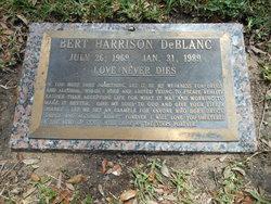 Bert Harrison DeBlanc