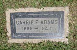 Carrie Elizabeth <i>Glenn</i> Adams