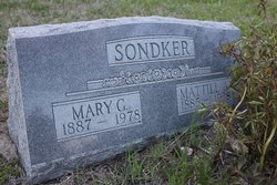 Mary C <i>Gaddis</i> Sondker