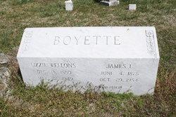 Lizzie Mae <i>Wellons</i> Boyette