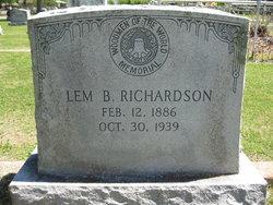 Lem B Richardson