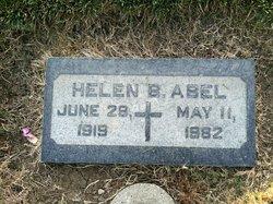 Mrs Helen Marie June <i>Burke</i> Abel