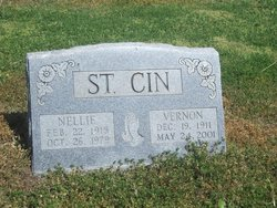 Nellie <i>Davis</i> St. Cin