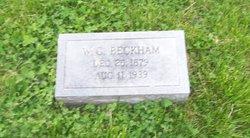 William Clayborne Beckham
