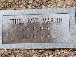 Ethel Faye Martin
