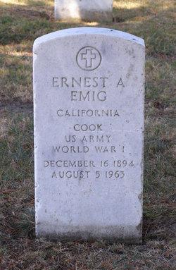 Ernest A Emig