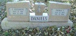 Thomas E Daniels