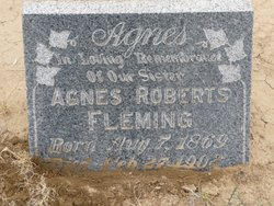 Agnes M. <i>Roberts</i> Fleming