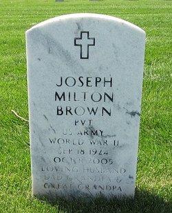 Joseph Milton Brown