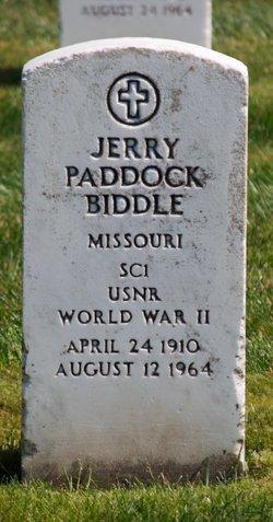 Jerry Paddock Biddle