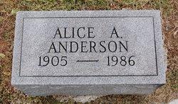 Alice Amanda Anderson