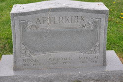 William F Afterkirk