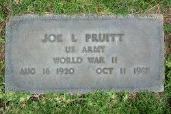 Joe L Pruitt