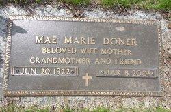 Mae Maria <i>Swanson</i> Doner